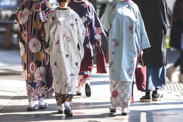 着物でも似合う上着をご紹介【きものレンタル夢京都祇園店】