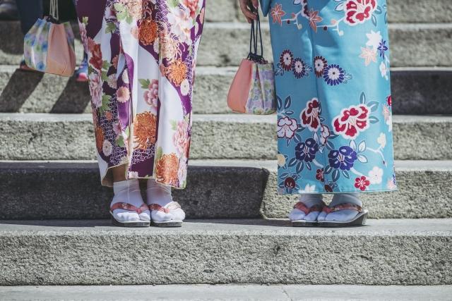 着物は袖丈が肝心【きものレンタル夢京都祇園店】
