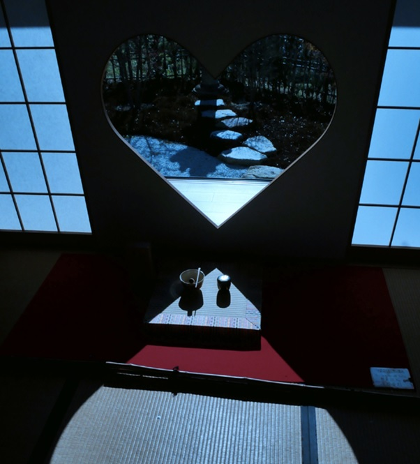 ハート型の窓で写真映え|正寿院【きものレンタル夢京都祇園店】