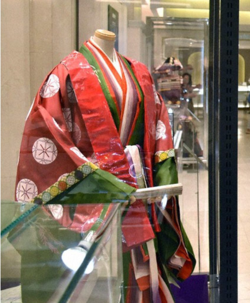 「時代祭」展示 大丸京都店