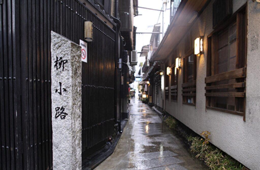 京都の路地